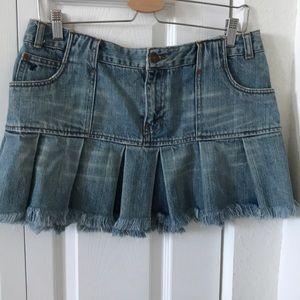 American Eagle vintage jeans skirt